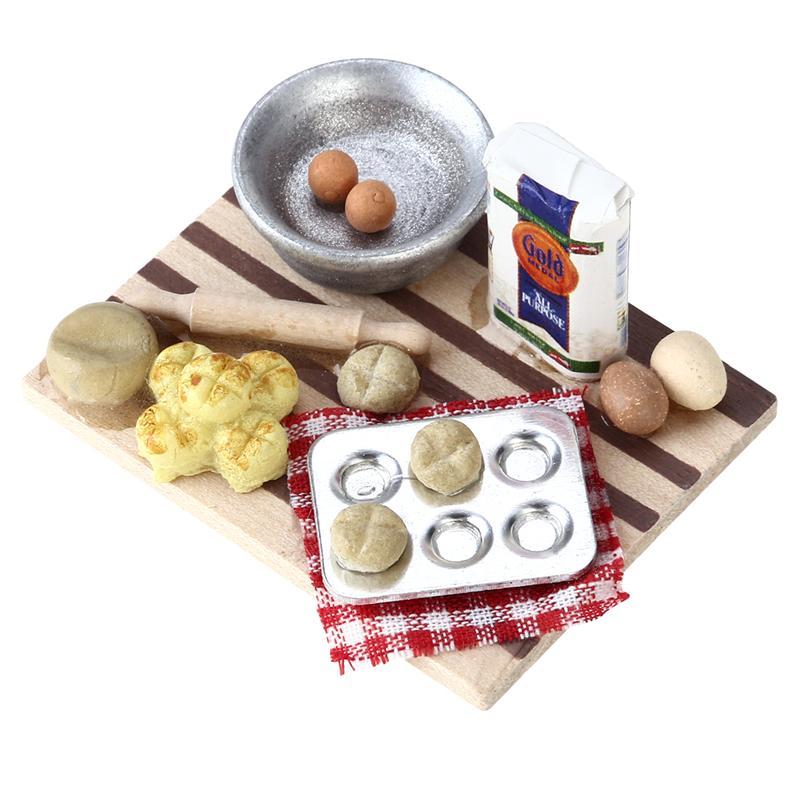 1:12 Miniature Dollhouse Food Milk Diy Home Mini Decoration SuppGY
