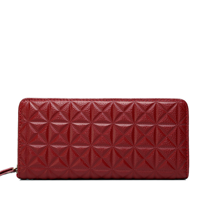 Women Genuine Real Leather Embossing Purse High Quality Cowhide Lady Fashion Wallet Clutch Evening Bag Long Wallets Card Holder 2017 genuine cowhide leather brand women wallet short design lady small coin purse mini clutch cartera high quality