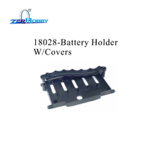 HSP RACING RC CAR ACCESSORIES PARTS NO. 18028 BATTERY HOLDER WITH COVERS FOR 1/10 ELECTRIC OFF ROAD ROCK CRAWLER 94180 94180T2