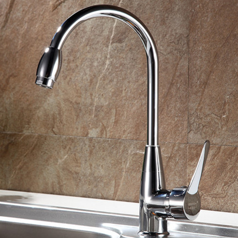 Free Shipping High Quality Zinc Alloy Kitchen Faucet With Contemporary  Polished Chrome Kitchen Sink Mixer Taps In Basin Faucets From Home  Improvement On ...