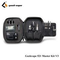 Original Geekvape 521 Master Kit V3 Include Geekvape Tab Pro Fully Loaded Tool Kit For Electronic