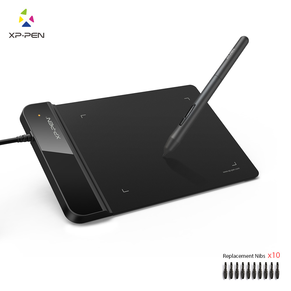 XP-Penna G430S Ultrasottile Tavoletta Grafica Disegno Tablet/Pen Tablet per OSU con Batteria-libera dello stilo- progettato
