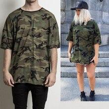 Hip Hop Camo Tee Short Sleeve Men T-Shirt Camouflage T Shirts Drake JB Women Mens Lovers Streetwear Rap jb t 11106 2011