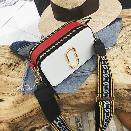 2018 New Fashion Wide Shoulder Straps Leather Women Shoulder Bags Messenger Crossbody Bag Small Square Package Handbags