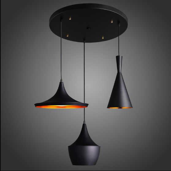 Дизайн beat музыкальный инструмент подвесной светильник медная люстра или любое