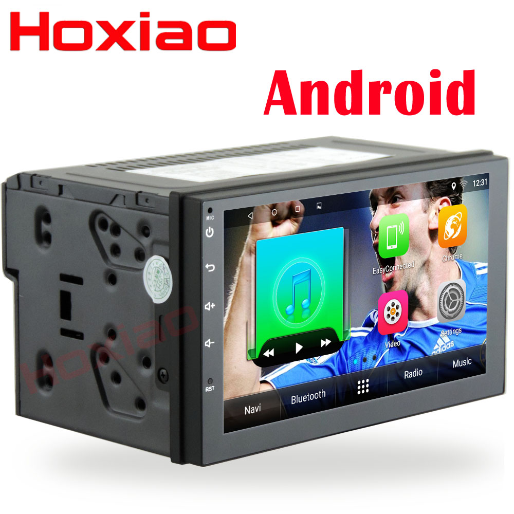 2 din Android 7 1 Quad-Core radio gps multimedia navigation audio For  Nissan VW BYD TOYOTA ISO HD 7 inch 2din Car dvd player