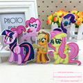 6pcs, 6 Different My Little Pony Pinkie Pie Patch Iron-On Applique Badge Toy Kids, Popular Cartoon Embroidery Patche #2-1