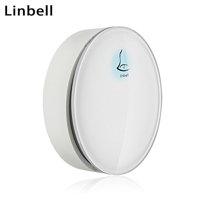 (G3 Accessories) Linbell door ring bell wireless waterproof remote doorbell cordless transmitter or receiver with EU/US/UK plug wireless cordless digital doorbell remote door bell chime waterproof eu us uk au plug 110 220v