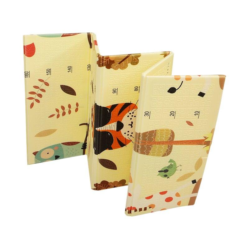 180*200cm Xpe bébé pliable tapis de jeu Puzzle infantile Double face épaissi maison bébé chambre épissage enfant escalade tapis enfants cadeaux