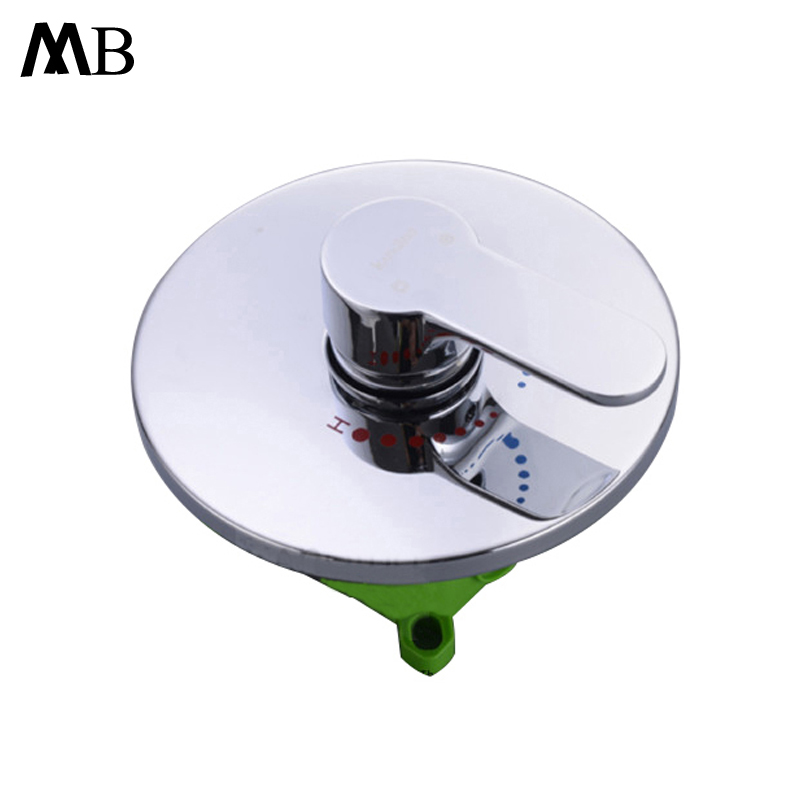Shower Mixer Valve Shower Faucets With Embeddded Box Brass Bathroom Hot Cold Mixer Valves Chrome Wall Mounted Water Tap Faucet antique brass bidet faucets wall mounted bathroom shower toilet washing faucet tap cold water with handshower bracket