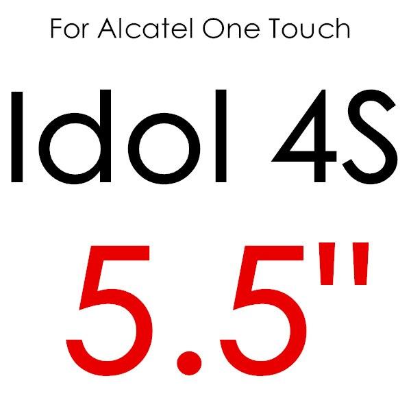 Экран протектор Закаленное Стекло для Alcatel One Touch Pop 3 5,5 5025D Idol 3 POP4 5051 4S Pixi 4 5,0 5010 Pixi3 4,5 5019D 5017 - Цвет: For IDOL 4S