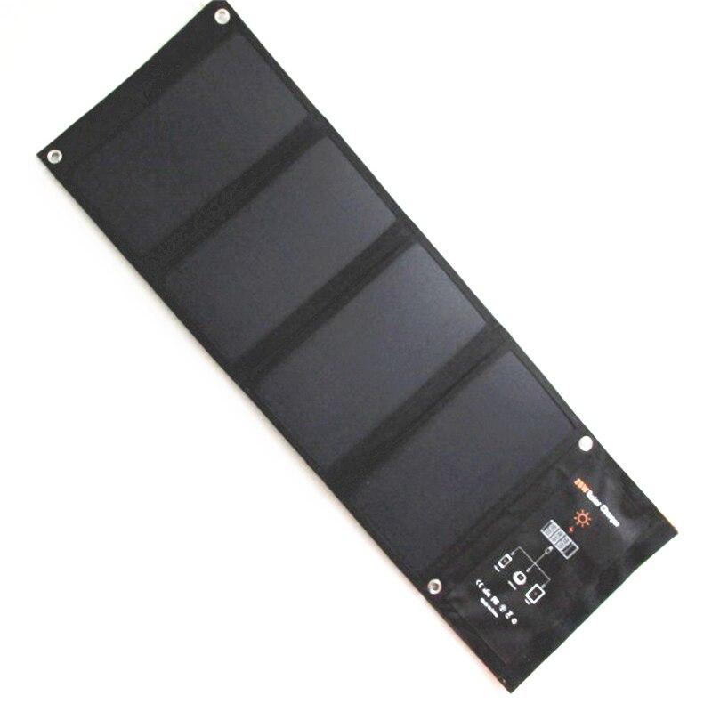 Chargeur solaire 28 W panneau solaire avec double Port USB 5 V imperméable à l'eau pliable cellules solaires pour Smartphones tablettes et Camping voyage