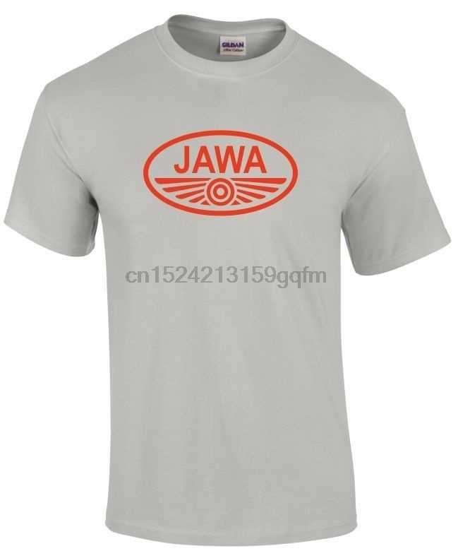 0502d7a9b Jawa Motorcycles Tee Shirt Mens Round Neck Short Sleeves Cotton Bottoming T- shirt Casual Fashion