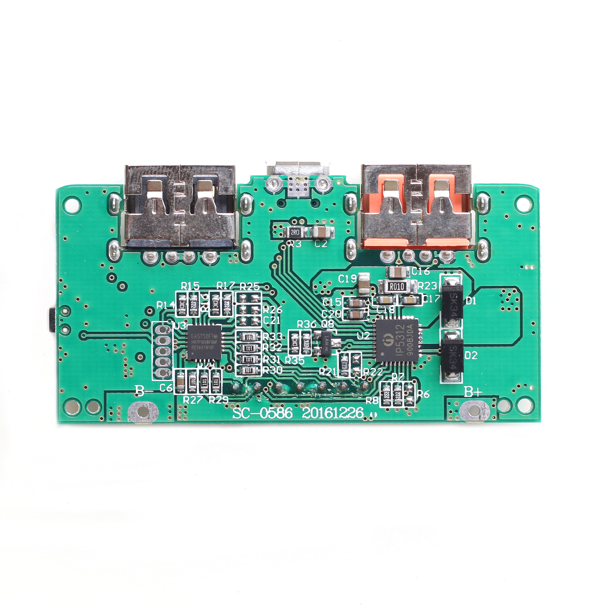 3.7V 5V High Pass QC3.0 Fast Charging Press Board Digital Electric ...