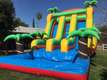 Commercial water inflatable slide for kids bouncers  inflatable slide  include blower