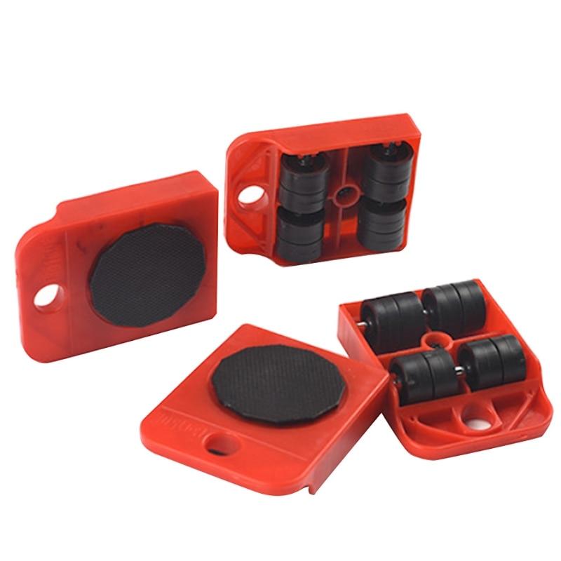 Moves Furniture Tool Transport Shifter Moving Wheel Slider Remover Roller Heavy  AP16