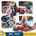 4 pçs/set sy746 hall da armadura do homem de ferro do flash seta bloco de construção tijolos de aprendizagem toy compatível com lego