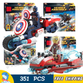 4pcs/set SY746 Hall of Armor Iron Man Arrow Flash Building Bricks Block Learning Toy Compatible With Lego