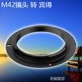 Anillo adaptador m42 M42-pk lente pk pentax slr cuerpo pentax anillo adaptador m42 adaptador envío gratis