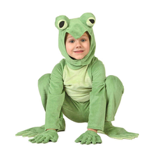 Cartoon Frog Cosplay Halloween Costume Adult Kids Party Stage Show Play Performance Apparel Carnival Jumpsuit