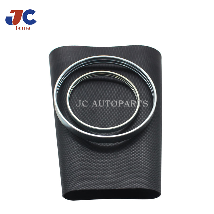 Front Pillow Rubber Sleeve with rings For <font><b>Audi</b></font> <font><b>A8</b></font> <font><b>D3</b></font> <font><b>4E</b></font> Air Suspension Repair Kit Bladder 4E0616039AF 4E0616040AF 4E0616039 image