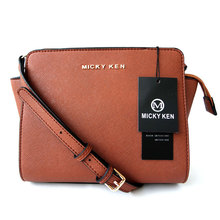 MICKY KEN Selling WomenS Bag Cross Pattern PU Leather Trumpet fashion Bat Shoulder Messenger 3038 Lady bags