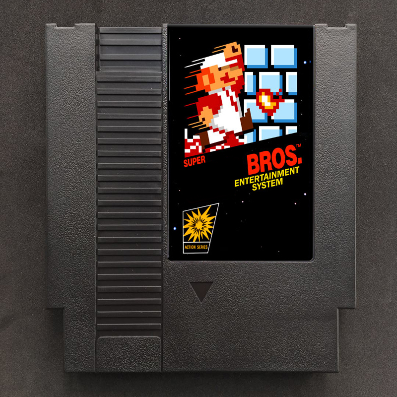 Marioed Series Games Region Free 72 pins 8 bit Game card Super Marioed BROS. 1 2 3 Mix Adventrue