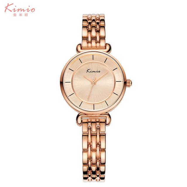 2016 kimio pulseira relógios das mulheres marca de luxo relógio de quartzo relógio de pulso moda casual esporte relojes reloj mujer relogio feminino