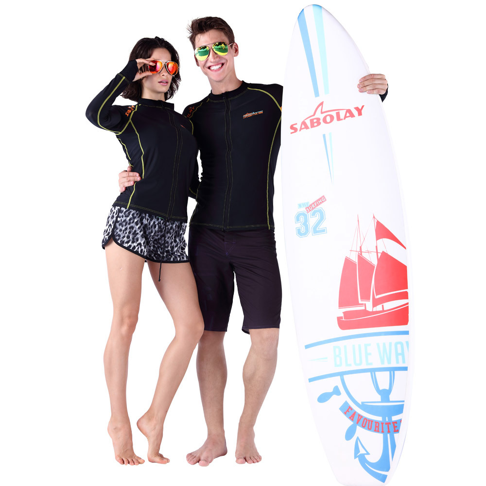 Sabolay diving suit the new couple quick dry sport outdoor zipper cardigan coat and sunscreen QL6706