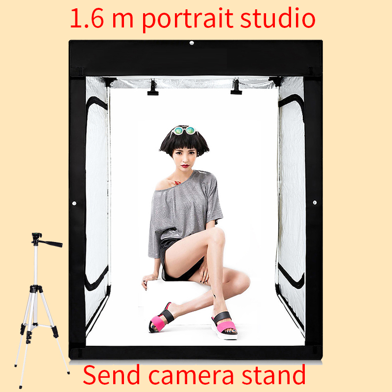 120*80*160CM Photo Studio Softbox Photography Lightbox Light box Shooting Light Tent With Free Gift