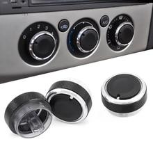 Aire acondicionado rueda reguadora de aire acondicionado para FORD FOCUS 2 MK2 Focus 3 MK3 Mondeo AC mando coche 3 uds enfoque estilo de coche