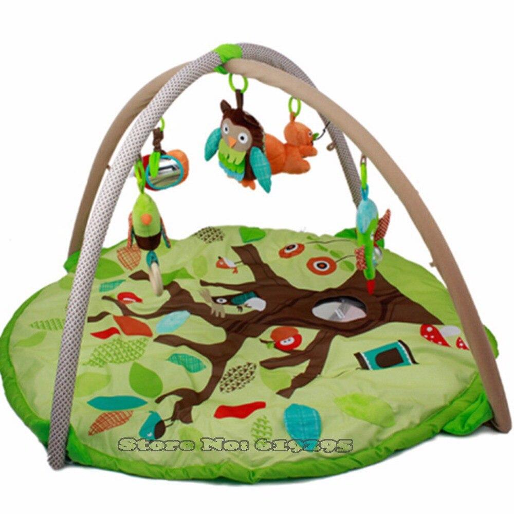 Tapis enfants 90*55 cm tapis de jeu bébé tapis Musical doux activité Gym jouer Gym enfants jouets doux bébé jouets tapis de jeu bébé Gym développement tapis