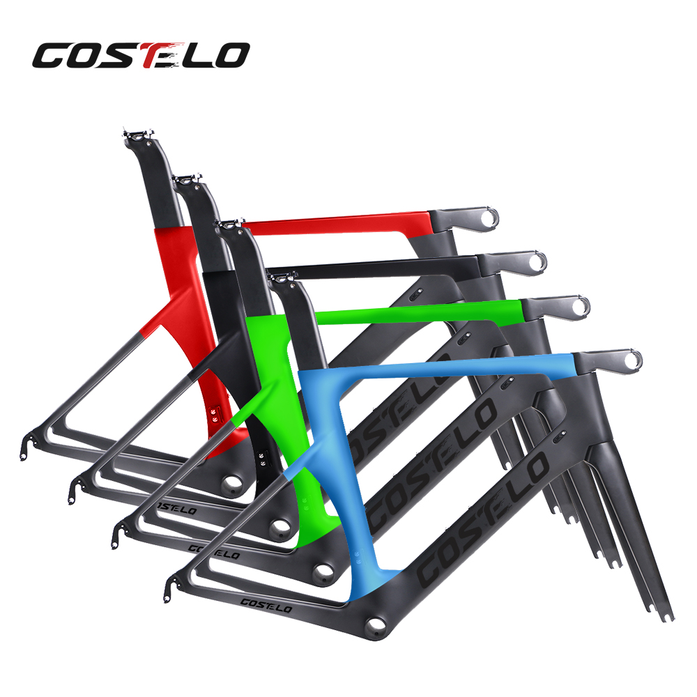 Costelo 2017 New Monocoques Road Full Carbon Bicycle Frame New Generation Technology,costelo Bici Velo Free Shipping