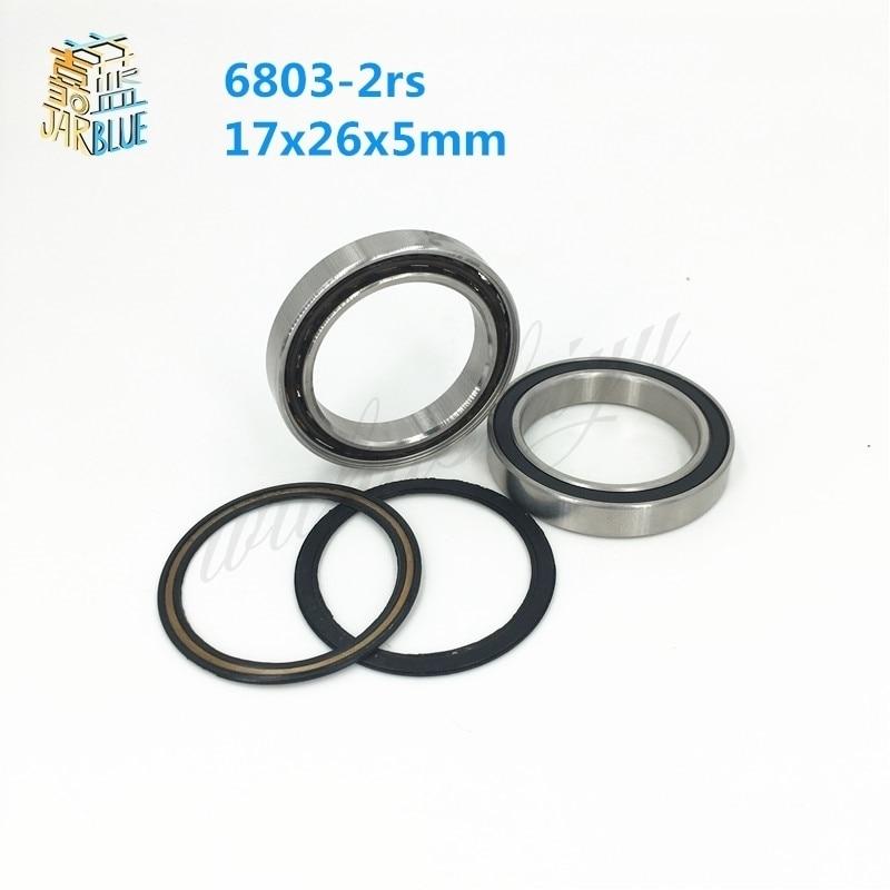 17x26x5 mm Hybrid CERAMIC Ball Bearing Bearings 6803RS 17*26*5 5pc 6803-2RS