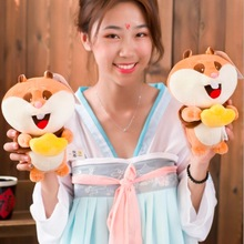 WYZHY New creative cute soft hamster plush toy sofa bedroom decoration send friends children gifts 20CM