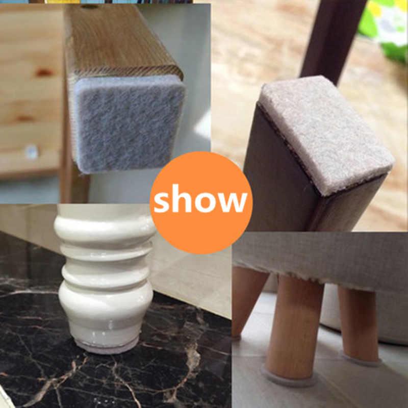 Новые клейкие подставки для ножек стула мебель ножка ноги Противоскользящий коврик защитная накладка мебель немой аксессуары напольные протекторы колодки