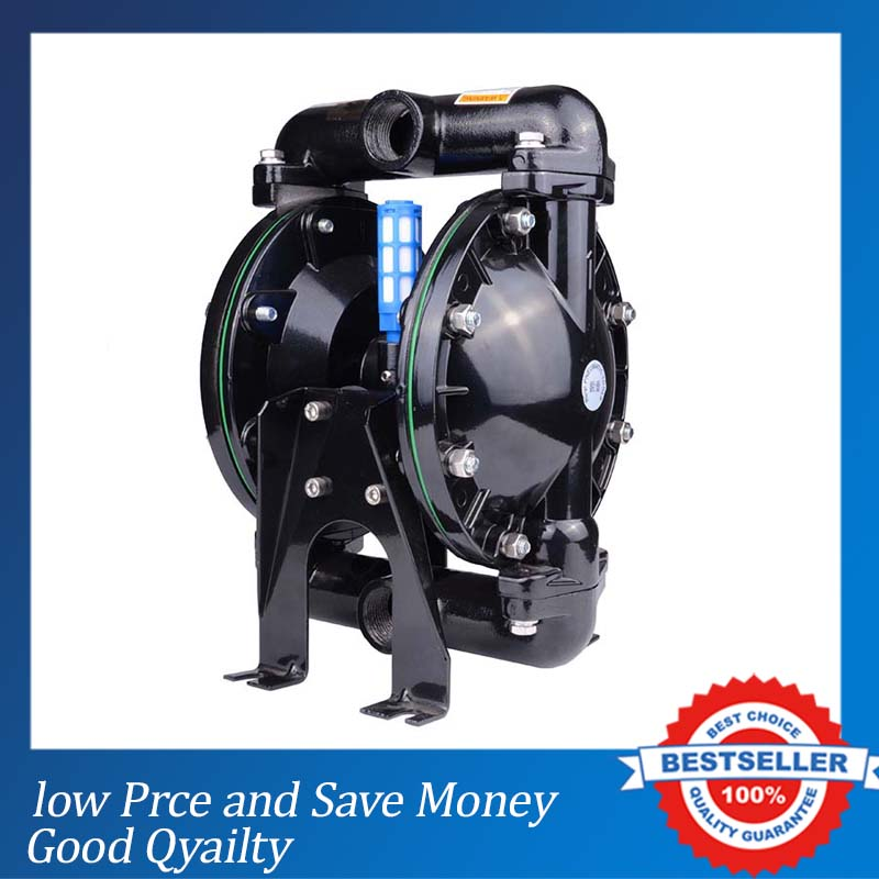 High Pressure Double Diaphragm Paint Pumps 1 inch Wastewater Treatment Sewage Pump  цены