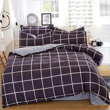 Постельных принадлежностей 5 размер Green Spirit комплект постельных принадлежностей пододеяльник набор корейский кровать лист + пододеяльник + наволочка розовый покрывало постельное белье