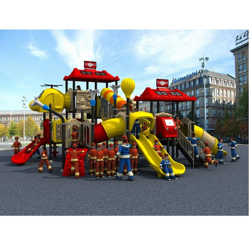 fireman amusement playground slide,outdoor playground park YLW-OUT1668fireman amusement playground slide,outdoor playground park YLW-OUT1668