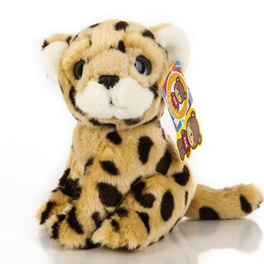 Snow Leopard Plush Stuffed Animal Peluche Miniature Plush Kids Soft