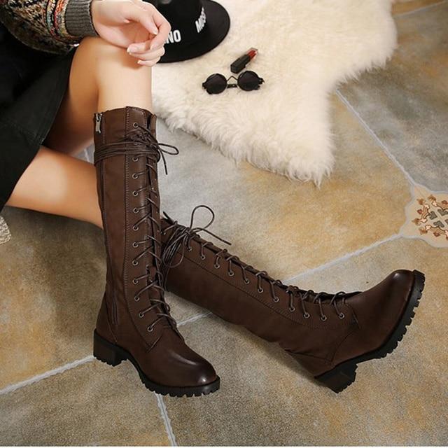 e793478678204 WENDYWU hiver PU cuir chaussures filles genou bottes fourrure enfants  bottes bébé frange bottes enfants à