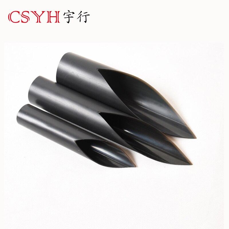 Le tube thermorétractable à double paroi de 90mm CSYH rétrécit trois fois, protection de l'environnement, retarda de flamme de 1.22 m de long chacun - 3
