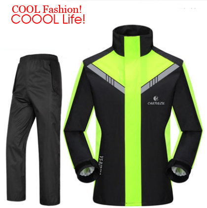 Mode Super imperméable combinaison de pluie moto rcycle imperméable à capuche para moto imperméable moto ciclista manteau de pluie moto cicleta jaquetas