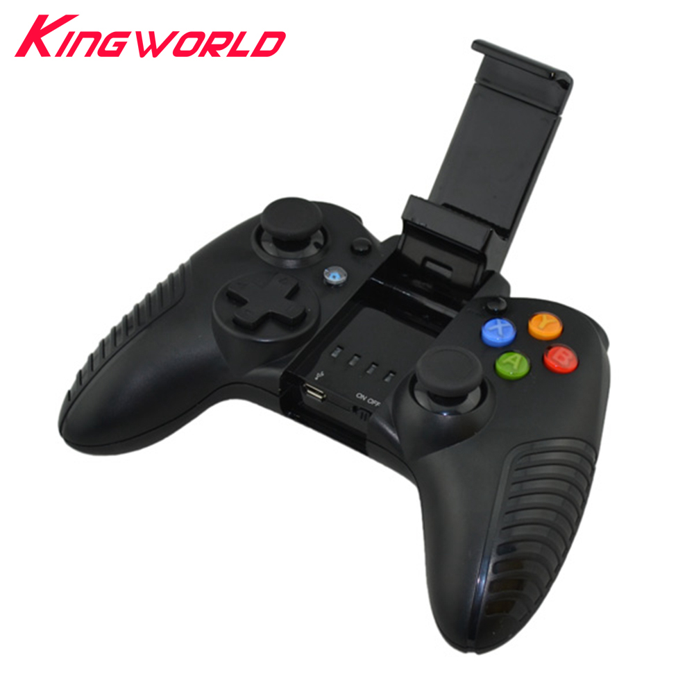 Bluetooth wireless Gamepad Game Controller Joystick for phone for ios android for pc with Cell Phone Holder