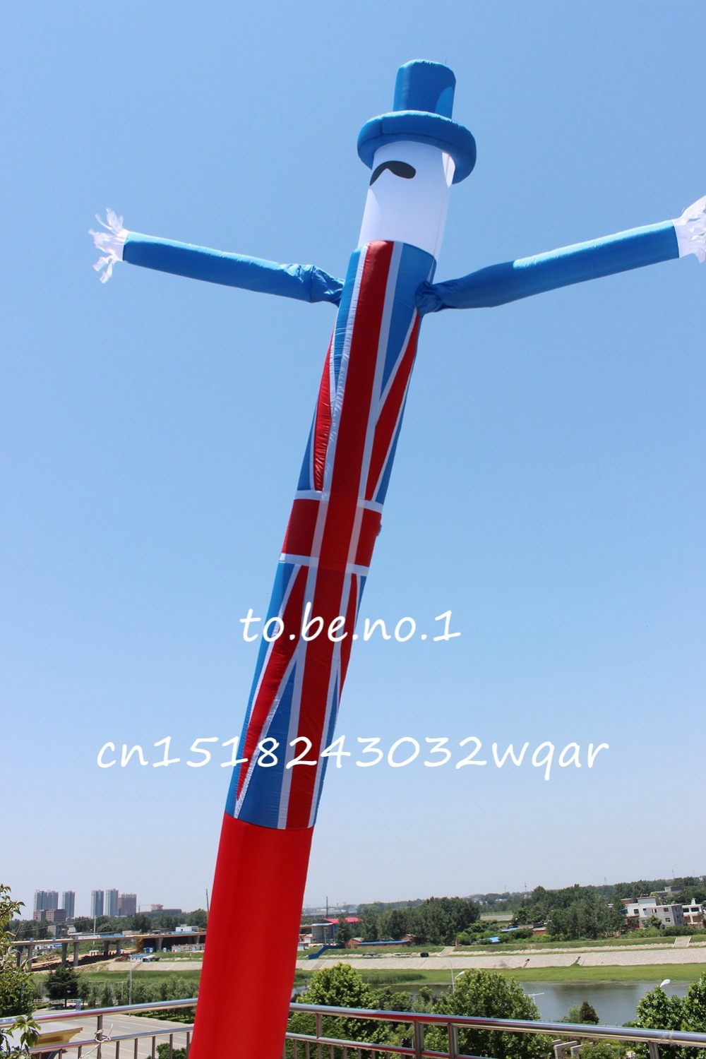 Inflatable Toys 6M 20FT Inflatable Tube Sky Dancer Air Dancer NO blower MN-2016-001 купить