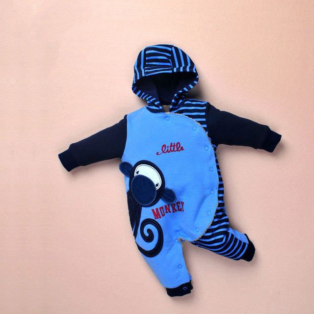 Unisex Winter Cotton Jumpsuit New Born Baby Clothes Girl Body Neonato Products For Children Costumes For Babies Romper  507065