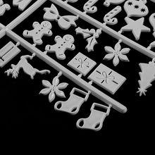 Рождественская войлочная вывеска, пластиковые буквы из фетра, доска для вывески, Новинка