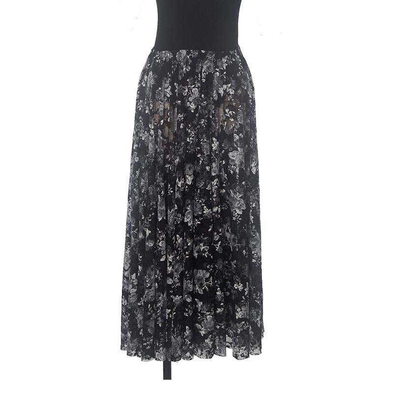 New arrival Black Lace Ballet Skirt Women Performance Stage Ballet Dress Ballerina Skirt
