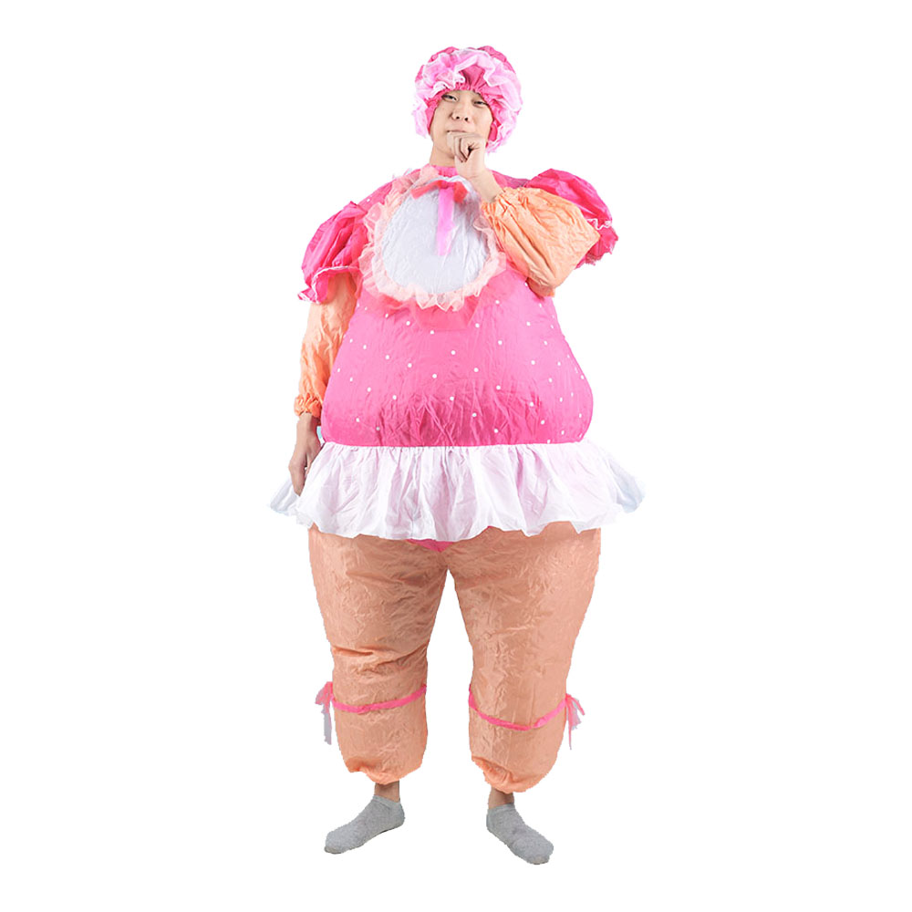 Baby Doll Inflatable Costumes Baby Girl Inflatable Costume Adult Fancy Dress Suit Party Halloween Christmas For Men And Women