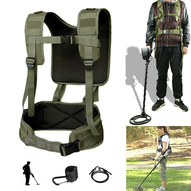 Universal Metal Detector Generic Detecting Harness Sling for Detector Pro Swing with Girdle DJA99Universal Metal Detector Generic Detecting Harness Sling for Detector Pro Swing with Girdle DJA99